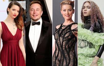 """Đường tình """"sóng gió"""" của tỷ phú Elon Musk: Nhiều tiền có hạnh phúc?"""