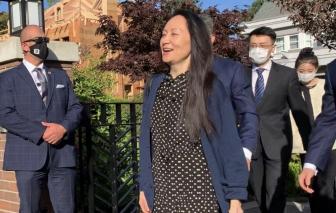 """""""Công chúa Huawei"""" Mạnh Vãn Chu được thả, Trung Quốc thả công dân Canada"""