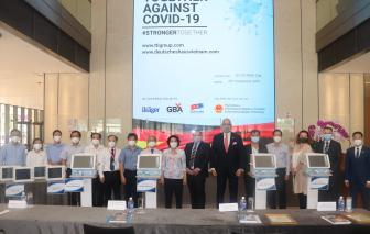 Doanh nghiệp Đức ủng hộ trang thiết bị y tế hỗ trợ TPHCM chống dịch