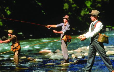 """Sự êm ả """"Nơi dòng sông chảy qua"""""""