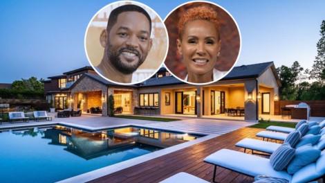 Bên trong biệt thự gần 12 triệu đô mới tậu của vợ chồng tài tử Will Smith