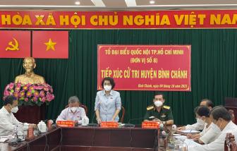 Cử tri huyện Bình Chánh: Cần triển khai tiêm vắc xin cho trẻ em dưới 18 tuổi
