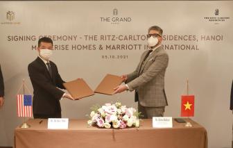 Masterise Homes và Marriott International hợp tác mang Khu căn hộ hàng hiệu Ritz-Carlton đến Hà Nội