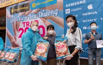 Trao gạo trên 23 tỉnh thành phía Nam, Thế Giới Di Động và Điện máy Xanh san sẻ khó khăn cho bà con giữa mùa dịch