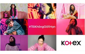 """Kotex giới thiệu chiến dịch """"Tôi Không Giới Hạn"""" hưởng ứng Ngày Quốc tế Con gái"""