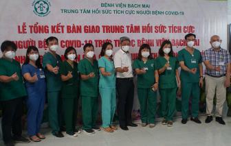 Bệnh viện Bạch Mai thu dọn trang thiết bị, bàn giao Bệnh viện dã chiến số 16 cho TPHCM