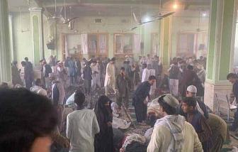 Hơn 100 người thương vong sau chuỗi đánh bom tại nhà thờ Hồi giáo ở Afghanistan