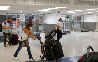 Mỹ chính thức dỡ bỏ hạn chế cho khách du lịch quốc tế từ 8/11