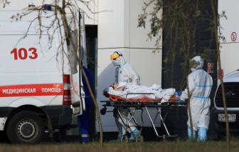 Nga lần đầu vượt qua 1.000 ca tử vong/ngày do COVID-19 trong bối cảnh vẫn hoài nghi vắc xin