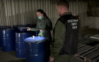 18 người chết vì ngộ độc rượu ở Nga