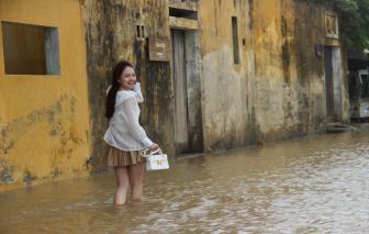 Một lần trải nghiệm cảnh lội lụt ở phố cổ Hội An