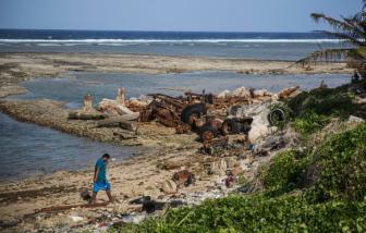 Nước biển dâng cao, nguy cơ xóa sổ đảo quốc Marshall