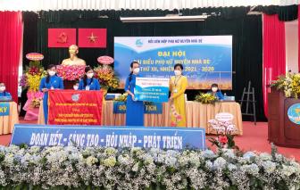 Bà Nguyễn Kiều Thu tiếp tục được tín nhiệm giữ chức vụ Chủ tịch Hội LHPN H.Nhà Bè