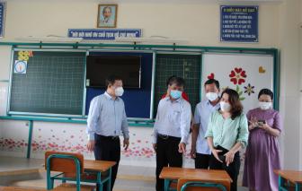 Học sinh xã đảo Thạnh An đi học trực tiếp từ ngày 20/10