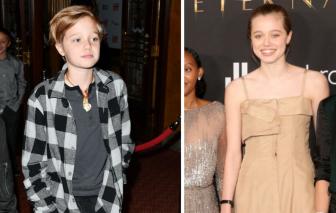 Con gái Angelina Jolie và Brad Pitt: Từ cô bé tomboy bất ngờ giống mẹ như đúc ở tuổi teen