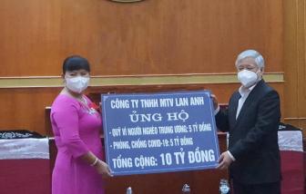 Doanh nhân Nguyễn Nam Phương san sẻ gánh nặng với người nghèo trong dịch COVID-19