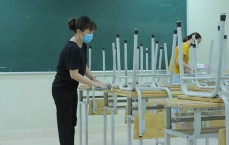 Bộ GD-ĐT: Địa phương nguy cơ thấp và trung bình có thể cho học sinh học trực tiếp