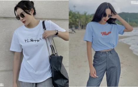 Loạt áo thun giá rẻ cực chất của Kỳ Duyên - Minh Triệu
