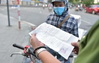 Vấn đề giấy đi đường của Hà Nội lên nghị trường Quốc hội