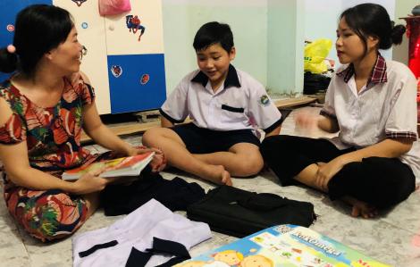 Ngày hạnh phúc của trẻ em xã đảo Thạnh An
