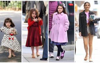 Con gái Tom Cruise và Katie Holmes: Từ cô bé dễ thương đến thiếu nữ xinh đẹp