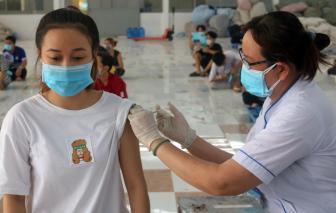 TPHCM chờ Bộ Y tế ban hành hướng dẫn để tiêm vắc xin cho trẻ 12 - 17 tuổi