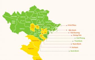 [Infographic] Bản đồ cấp độ dịch tại 63 tỉnh, thành hiện nay