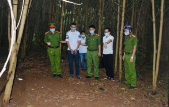 Kẻ mang 9 tiền án dùng bộ đàm điều hành đường dây đánh bạc khủng trong rừng