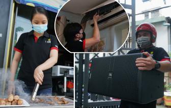 Nhân viên quán karaoke bán thức ăn, sửa điện máy để duy trì hoạt động