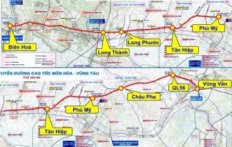 Bà Rịa - Vũng Tàu đề nghị giao Bộ GTVT thực hiện cao tốc Biên Hòa - Vũng Tàu