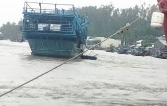 Quảng Ngãi: 3 ngư dân mất tích trong mưa lớn