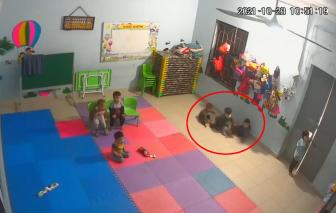 Dừng hoạt động nhóm trẻđể xảy ra vụ bé gái 2 tuổi bị bạn đánh tím người