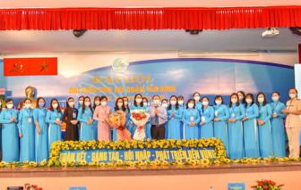 Chị Đỗ Thị Ngọc Lan tái đắc cử Chủ tịch Hội LHPN quận Tân Bình nhiệm kỳ 2021-2026.