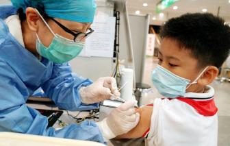 TPHCM dự kiến tiêm vắc xin ngừa COVID-19 cho trẻ em vào ngày mai, 27/10