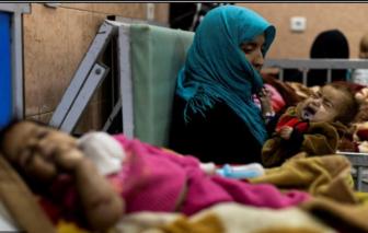 Liên Hiệp Quốc cảnh báo hàng triệu trẻ em Afghanistan có nguy cơ chết đói