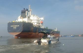 Tìm thấy thi thể nạn nhân mất tích trong vụ chìm sà lan ở Cần Giờ