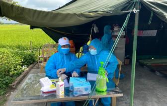 Bắc Giang quy định người về từ tỉnh có dịch phải xét nghiệm, kể cả vùng xanh