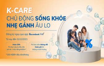 Sacombank và Dai-Ichi Life ra mắt sản phẩm bảo hiểm bệnh ung thư trên ứng dụng Sacombank Pay