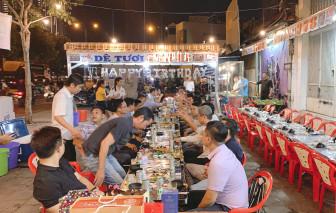 Đề xuất cho hàng quán bán tại chỗ ở quận 7 và Thủ Đức được phục vụ rượu, bia