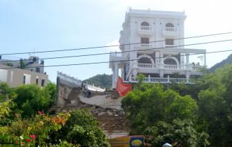 Nha Trang: Hiểm họa từ biệt thự trên núi khi bị sạt lở